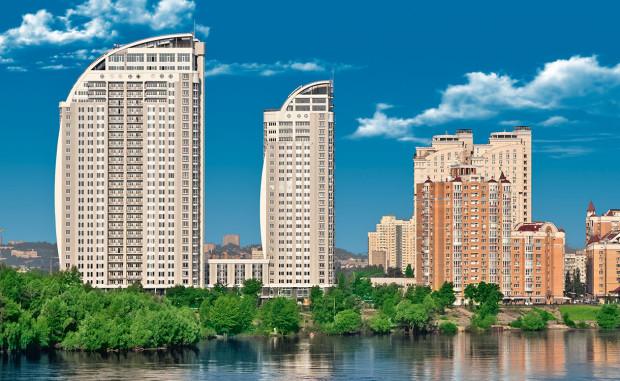 Жилищный комплекс на Оболони (Проспект Героев Сталинграда, 2) Киев
