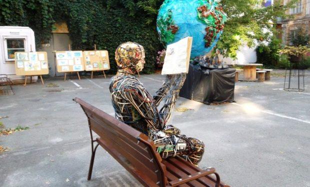 арт-дворик на Сретенской, Киев