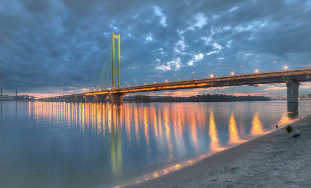 Киев, Южный мост, Труханов остров