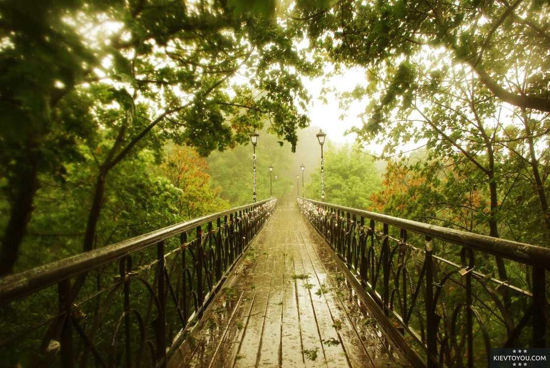 Мост  влюбленных Киев