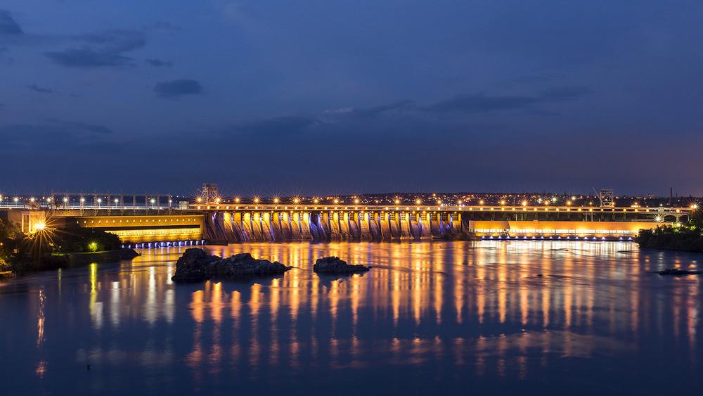 Набережная Днепра Киев