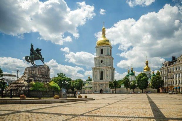 Киев, Софиевская площадь