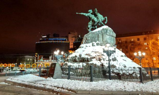 Киеве зимой