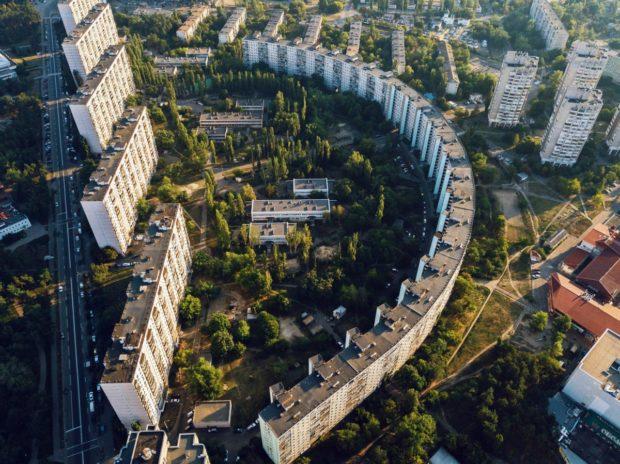 Полукружка. Дом в Дарницком районе