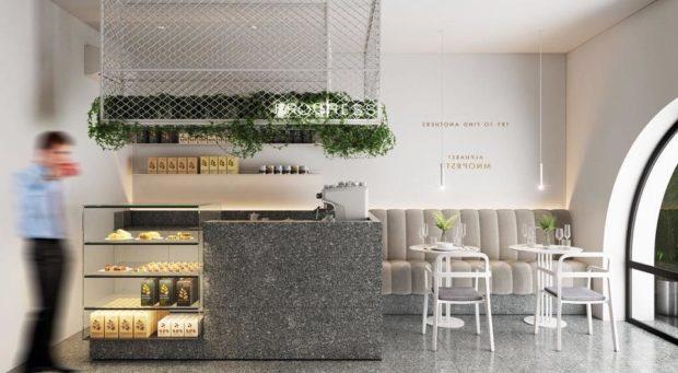 """Кофейня Progress cafe на """"Золотых воротах"""""""
