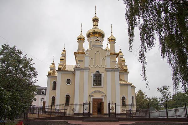 Храм святителя Феодосия Черниговского УПЦ