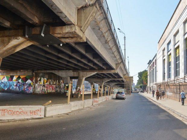 Шулявский мост разрушат в первые выходные ноября