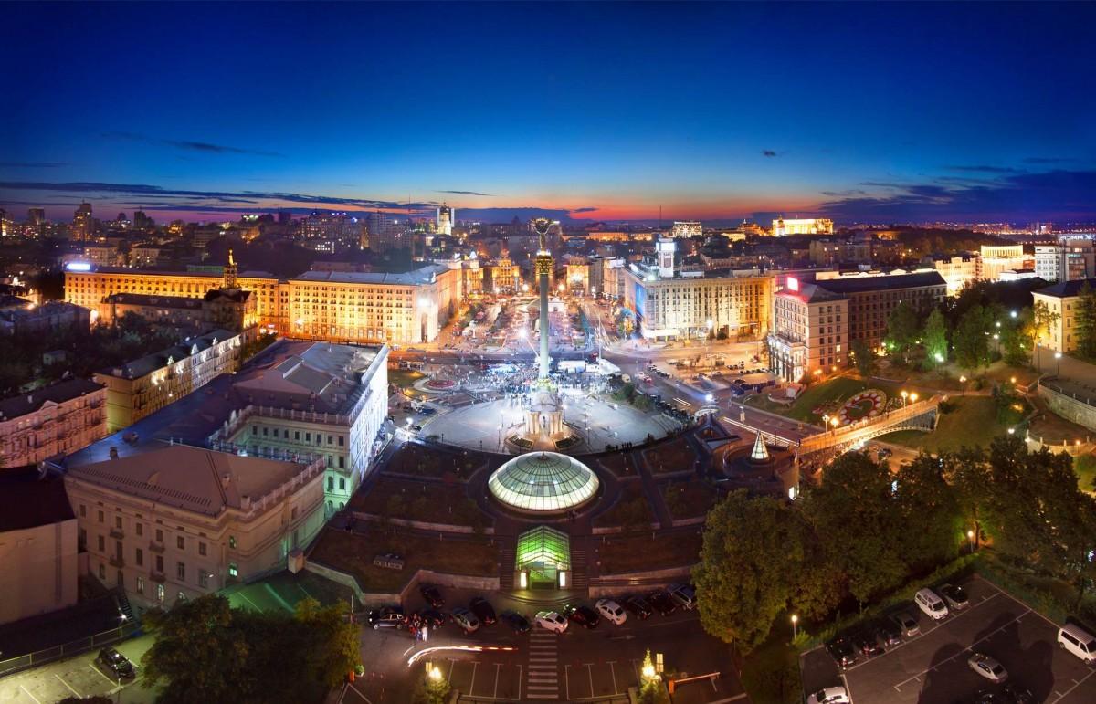 Крыша в отеле «Украина»
