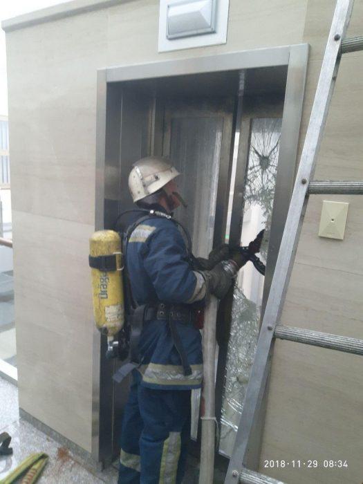 В здании Министерства финансов произошел пожар
