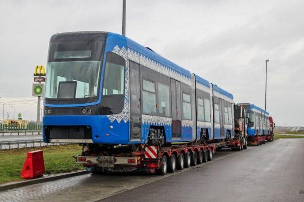 Киев получил новые польские трамваи