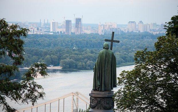 Памятник Владимиру сегодня