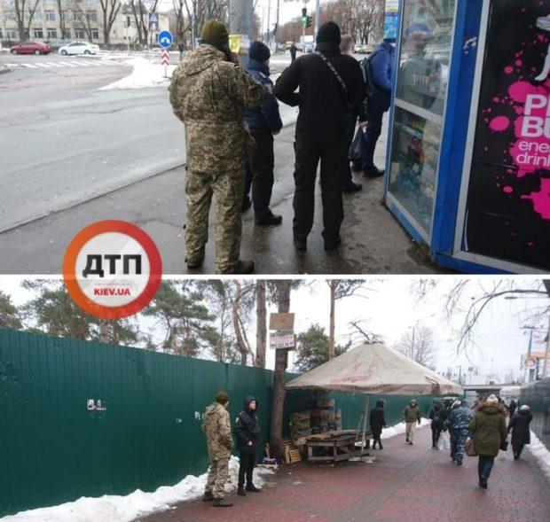 """Возле станции метро """"Лесная"""" проводят """"отлов"""" призывников"""