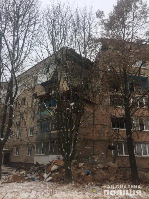 В жилом доме под Киевом произошел взрыв газа: разрушены три этажа