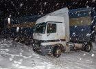 Въезд грузового транспорта в Киев может быть ограничен из-за снегопада
