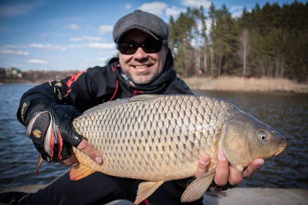 Рыбалка под Киевом