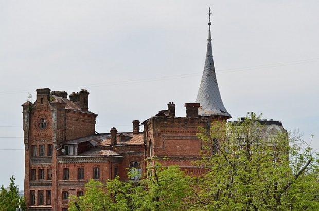 Замок барона Штейнгеля, Киев, сегодня