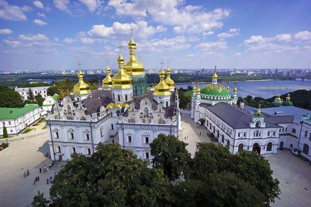 Храм Киево-Печерская Лавра сегодня