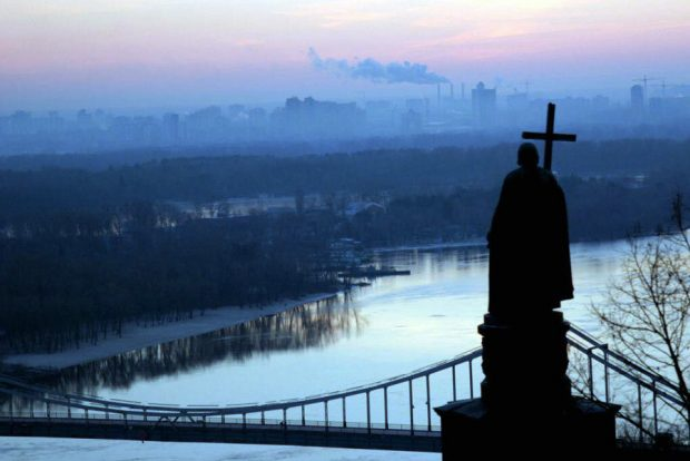 Для празднования Крещения в Киеве обустроили 12 локаций