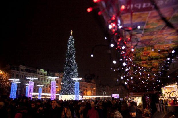 7 января на Софийской и Контрактовой площадях будут праздновать Рождество Христово