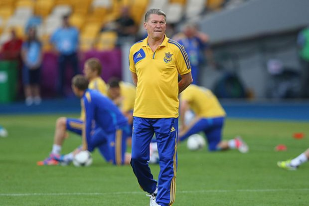 тренер Олег Блохин