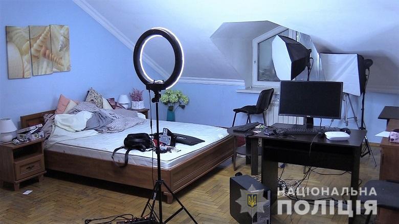В Киеве прикрыли интернет-порностудию