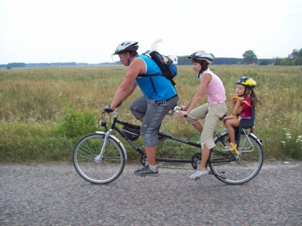 Тандем, аренда велосипев