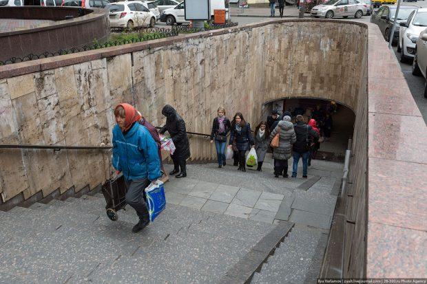 Подземные переходы, Киев