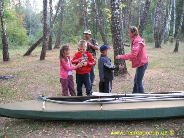 Recreation, байдарочные походы