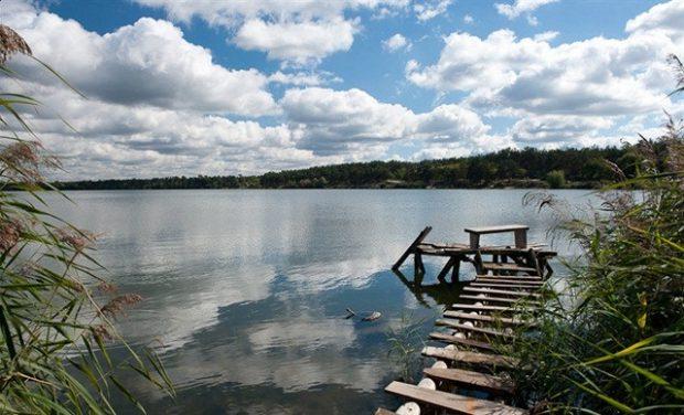 Алмазное озеро в Киеве