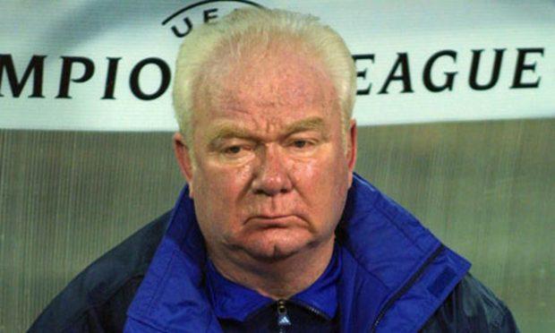 тренер Валерий Лобановский