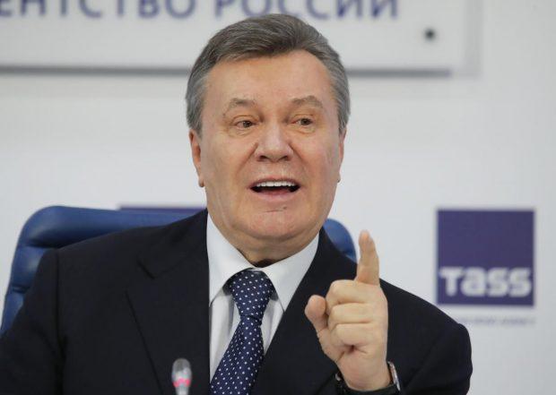 Янукович даст пресс-конференцию в Москве