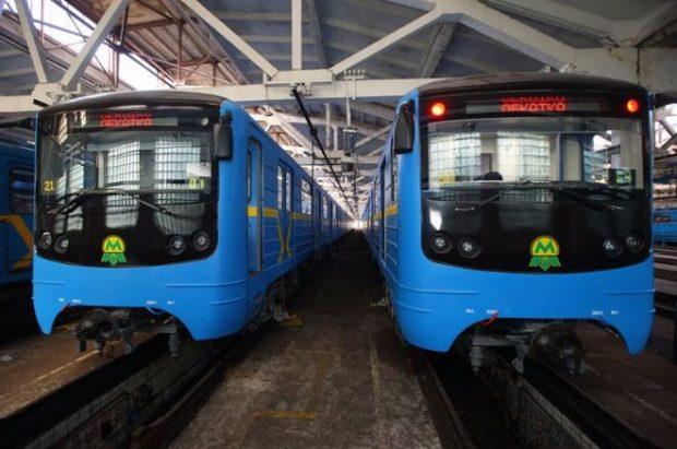 Киевское метро, вагоны
