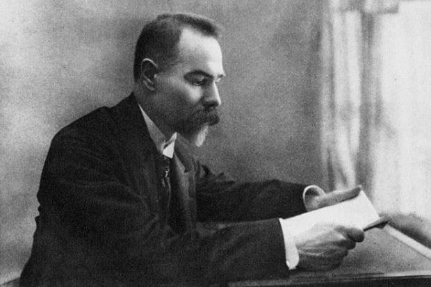 поэт Валерий Брюсов
