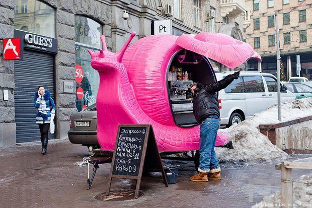 Кофейни на колесах, Киев