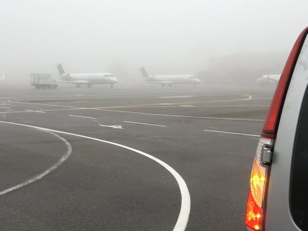 """Из-за тумана в аэропорту """"Киев"""" отменяют рейсы"""