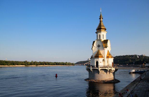 Храм на воде, Киев