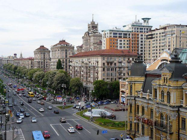 улица Хрещатик, Киев