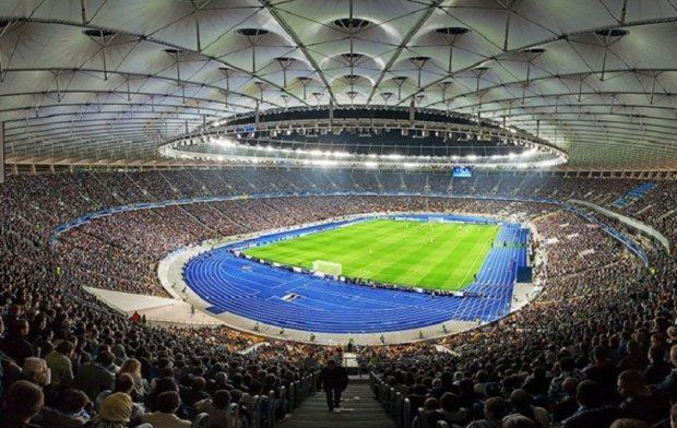 Стадион Олимпийский, Киев