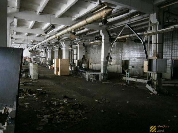 Главный цех завода «Электроприбор» Киев