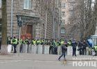 На охрану правопорядка во время акций в Киеве заступило три тысячи правоохранителей