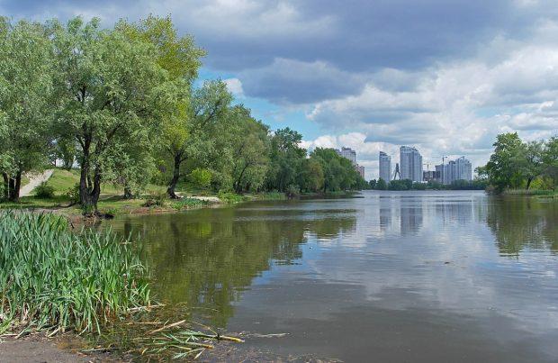 Озеро Вербное, Киев