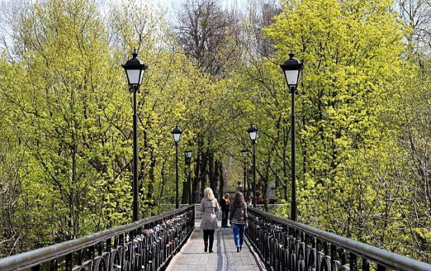 Мост Влюбленных, Киев