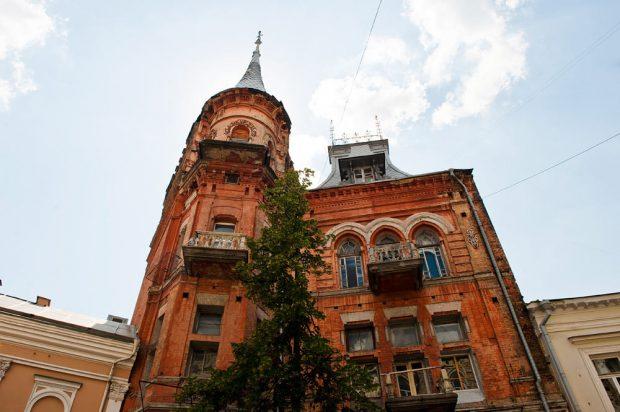 Замок рыцаря, Киев