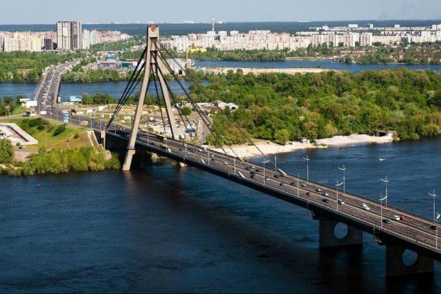 Московский мост, Киев