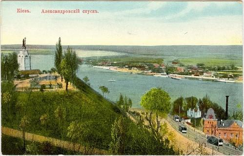 открытка Андреевский спуск