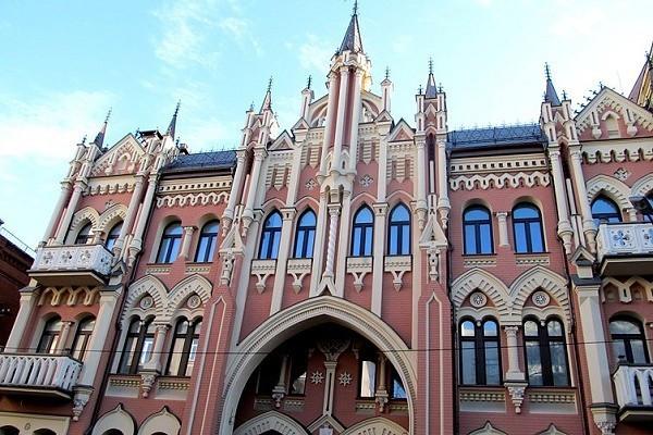 Замок барона Гильденбанда, Киев