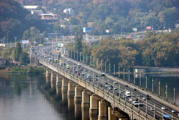 Мост Патона, Киев