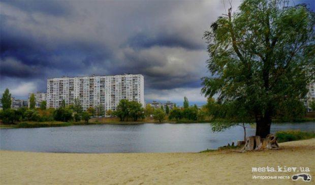 Озеро Тельбин, Киев