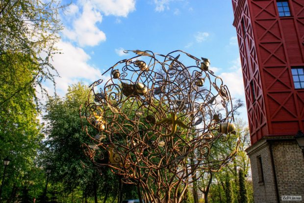 Дерево желаний, Киев
