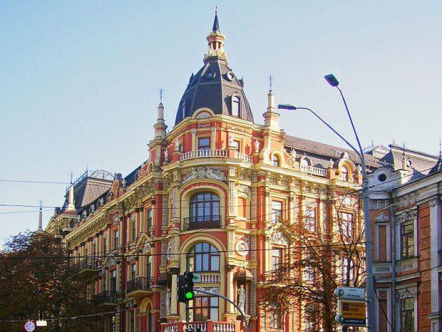 Здание бывшего ресторана Лейпциг, Киев